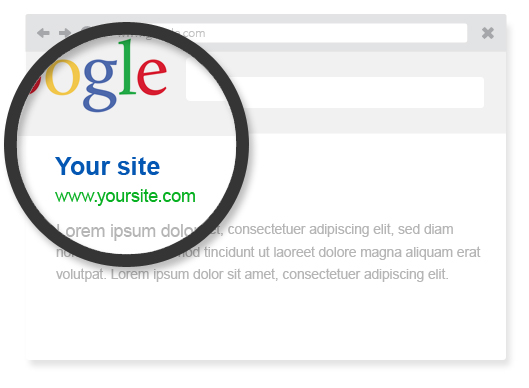Make a website optimized for search engines